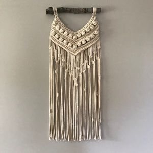 macrame wall piece handwoven